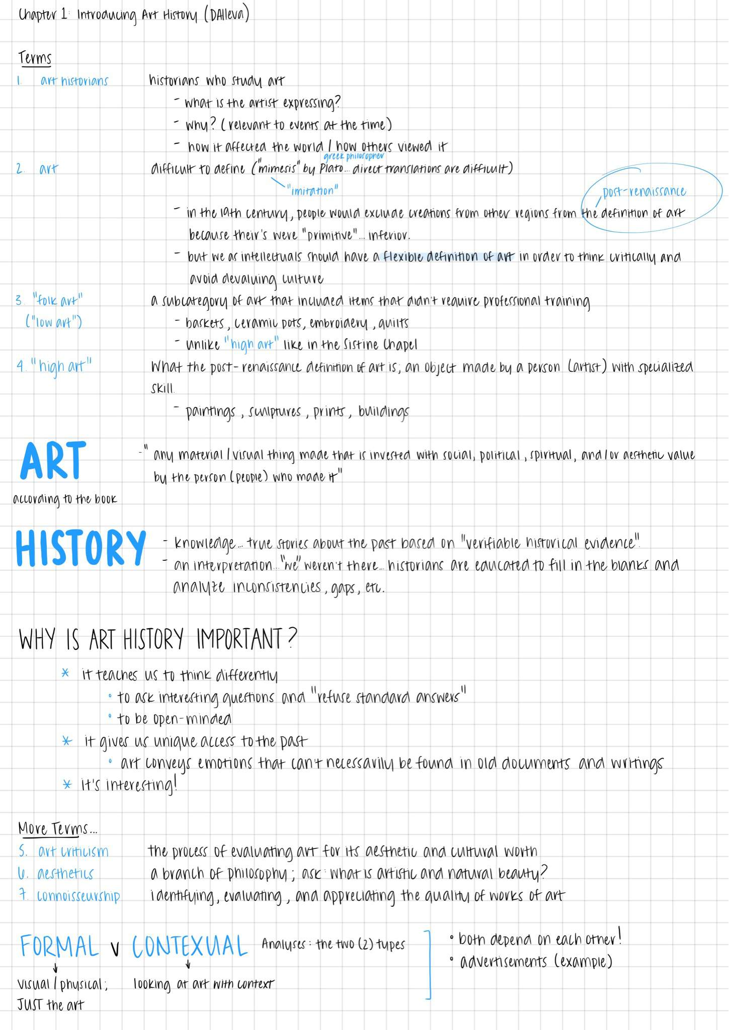 Week 1 - Asian Art History Notes | Studying Amino Amino