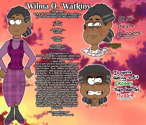 Wilma Watkins   Wiki   Gravity Falls Amino