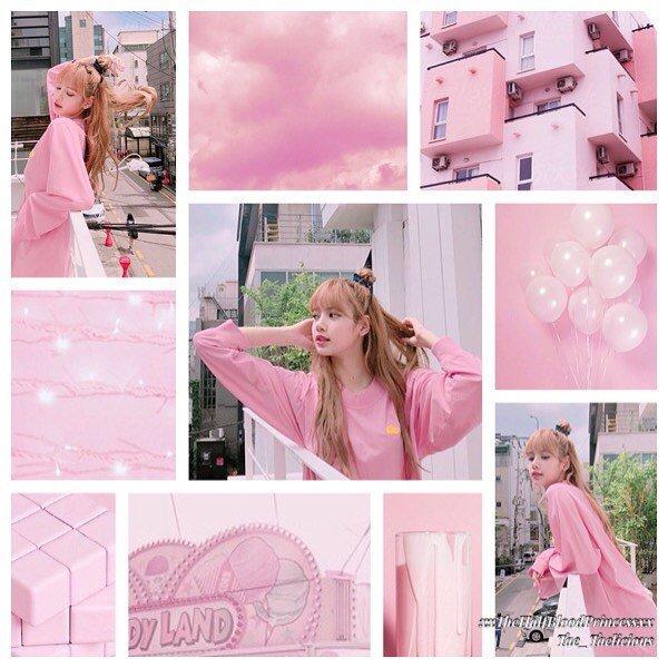 Lalisa Manoban Pink Aesthetics