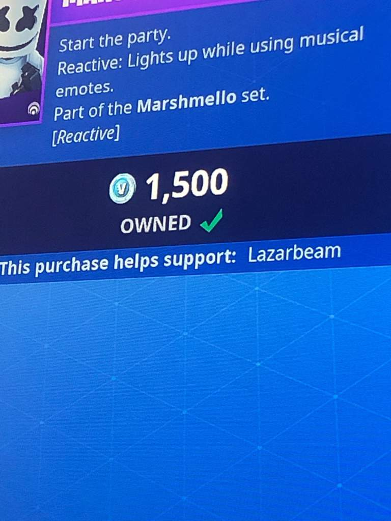 Use code Lazarbeam in the item shop | Fortnite: Battle