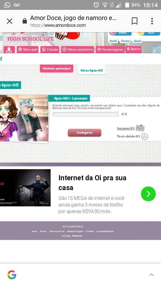 Um Novo Spin Off Amor Doce The Game Amino