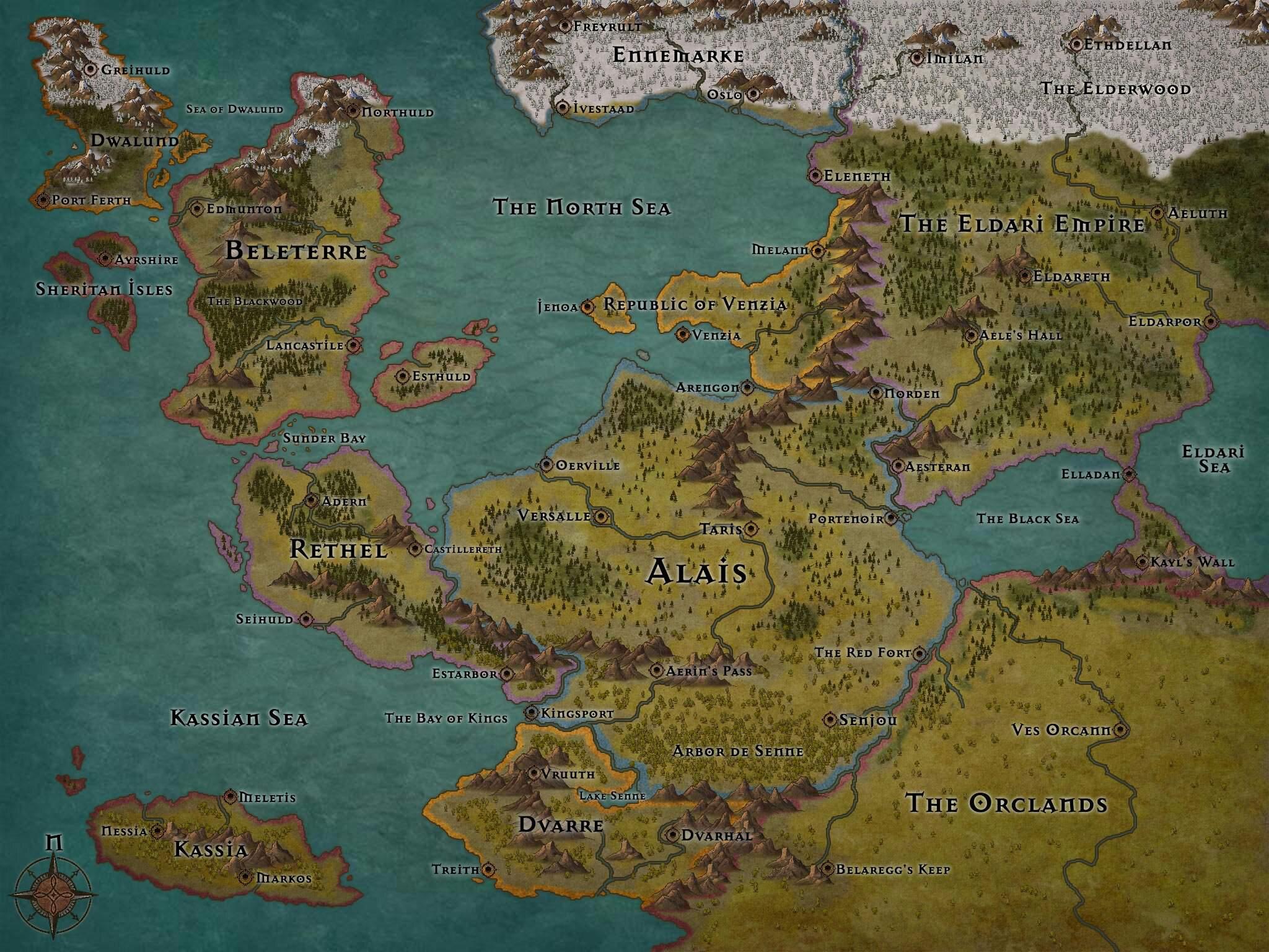 Mapa Que Estou Usando Na Minha Campanha Atual Achei No Google
