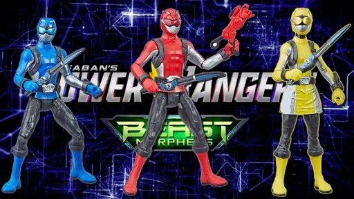 Hasbro Announces First Power Rangers Beast Morphers 39 Beast