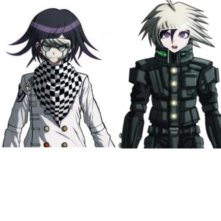 Kokichi and k1-bo face swap | Danganronpa Amino