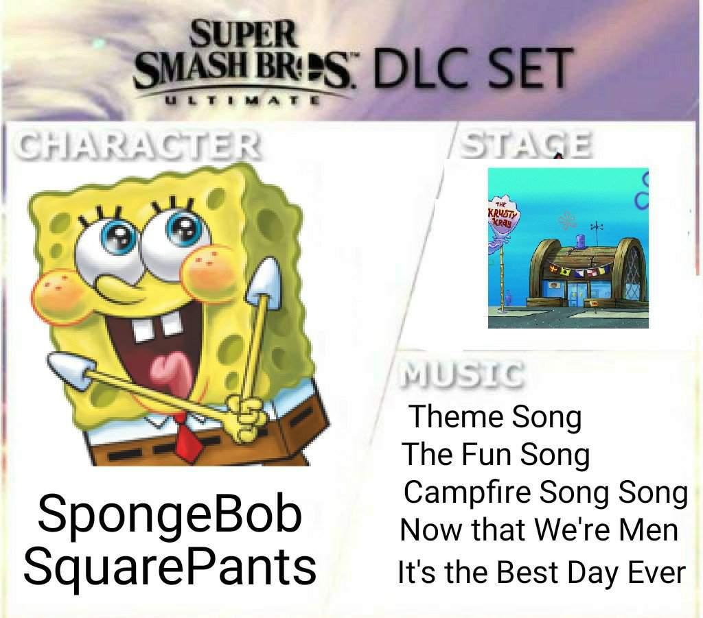 Spongebob squarepants is ready for battle joke moveset smash amino