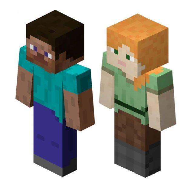 Nostalgic Rep Minecraft Steve Alex Smash Amino
