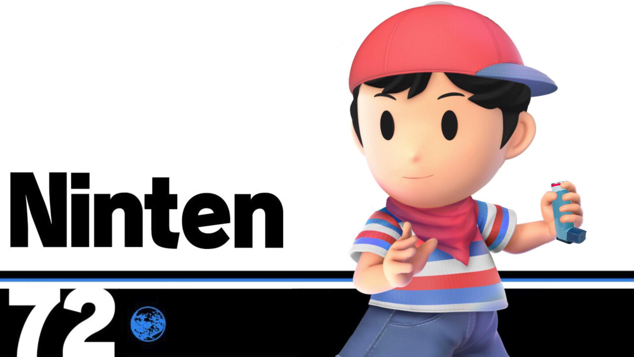 """""""Ninten Joins Your Party"""" - A character conept for an EarthBound"""