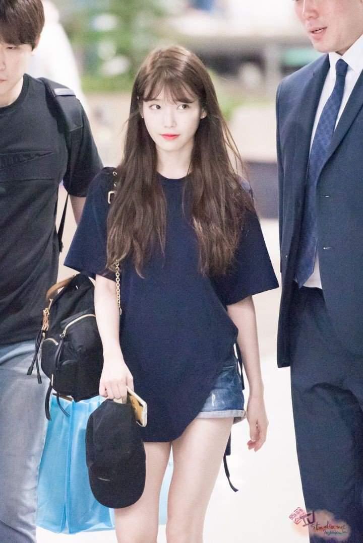 "Which One Do You Prefer Short Hair Or Long Hair Iu Lee Ji Eun ̕""이유 Amino"