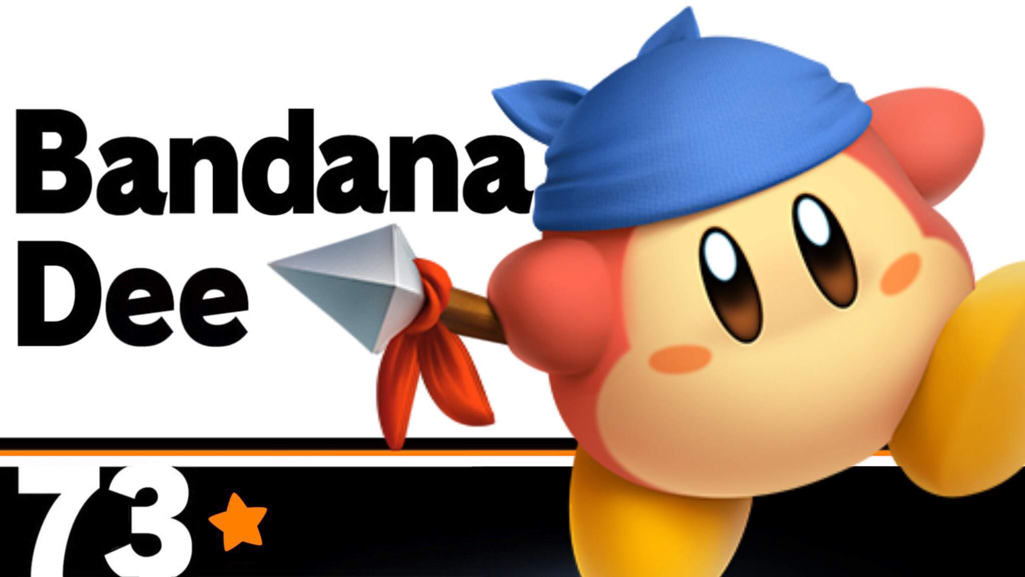 Bandana Waddle Dee Makes His Point A Moveset Concept For The The Round Orange Dee Smash Amino