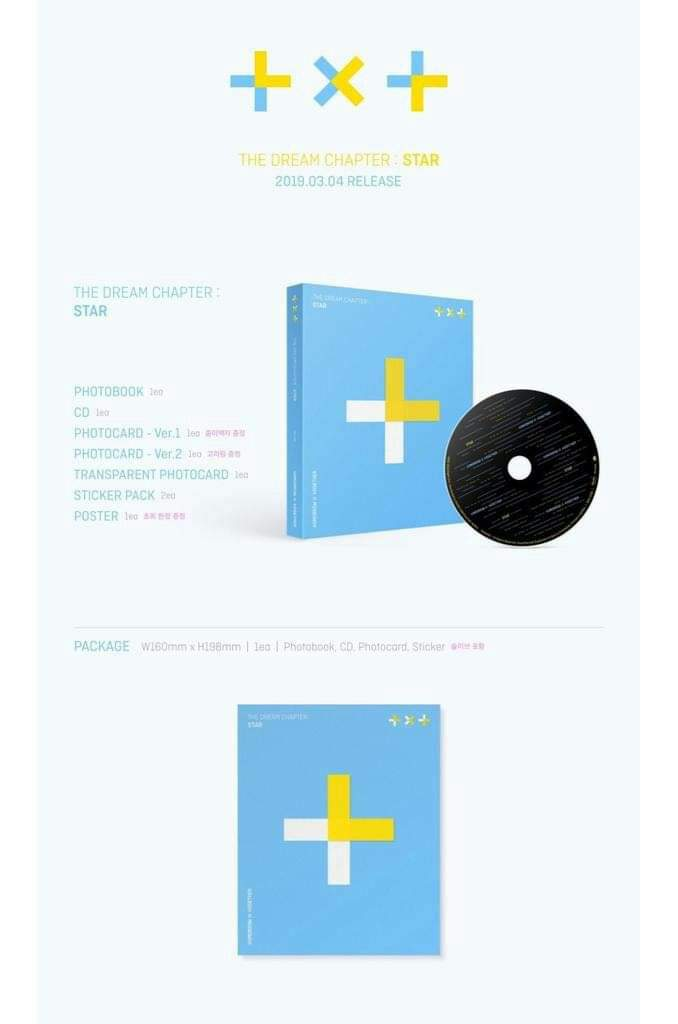 Txt Tomorrow X Together The Dream Chapter Star Album Poster Option