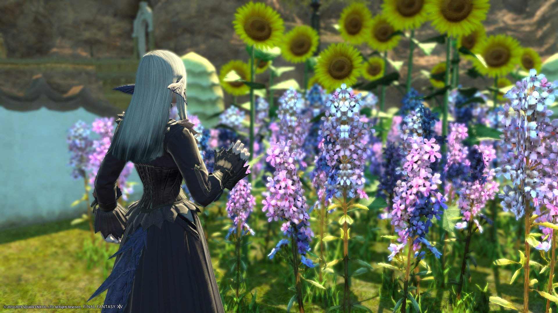 A happy Kaime ft Flowers | Final Fantasy XIV Amino! Amino