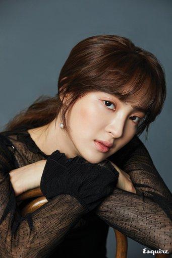 Jung Hye Sung - Esquire Magazine   Wiki   الدراما الكورية