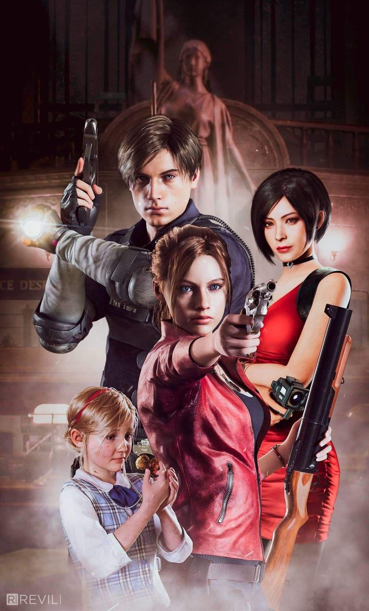 Resident Evil 2 Remake What Is The Mbti Of Leon Ada And Claire