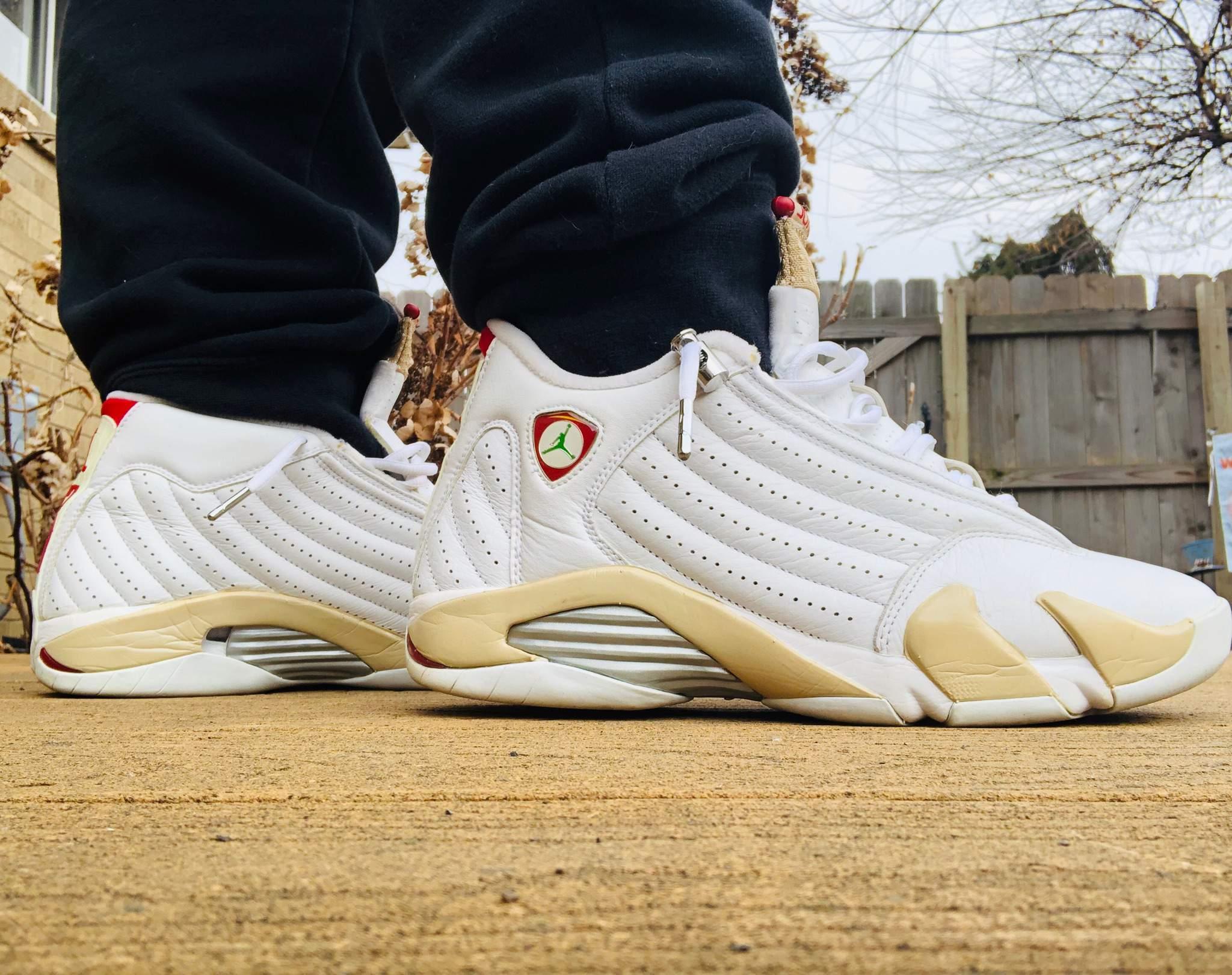 """KOTD: Jordan 14 """"Linen""""   Sneakerheads"""