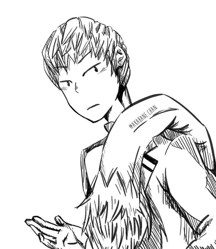 Ojiro Mashirao Fanart 3 Anime Art Amino