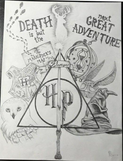 Dessin Harry Potter 💚 | Harry Potter (FR) Amino
