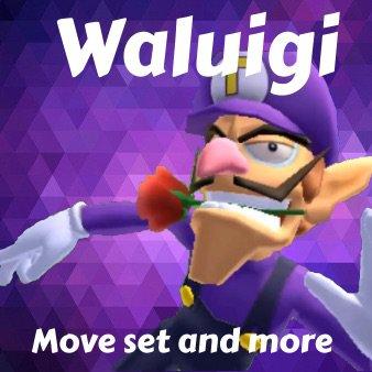 Waluigi move set and more | Smash Amino