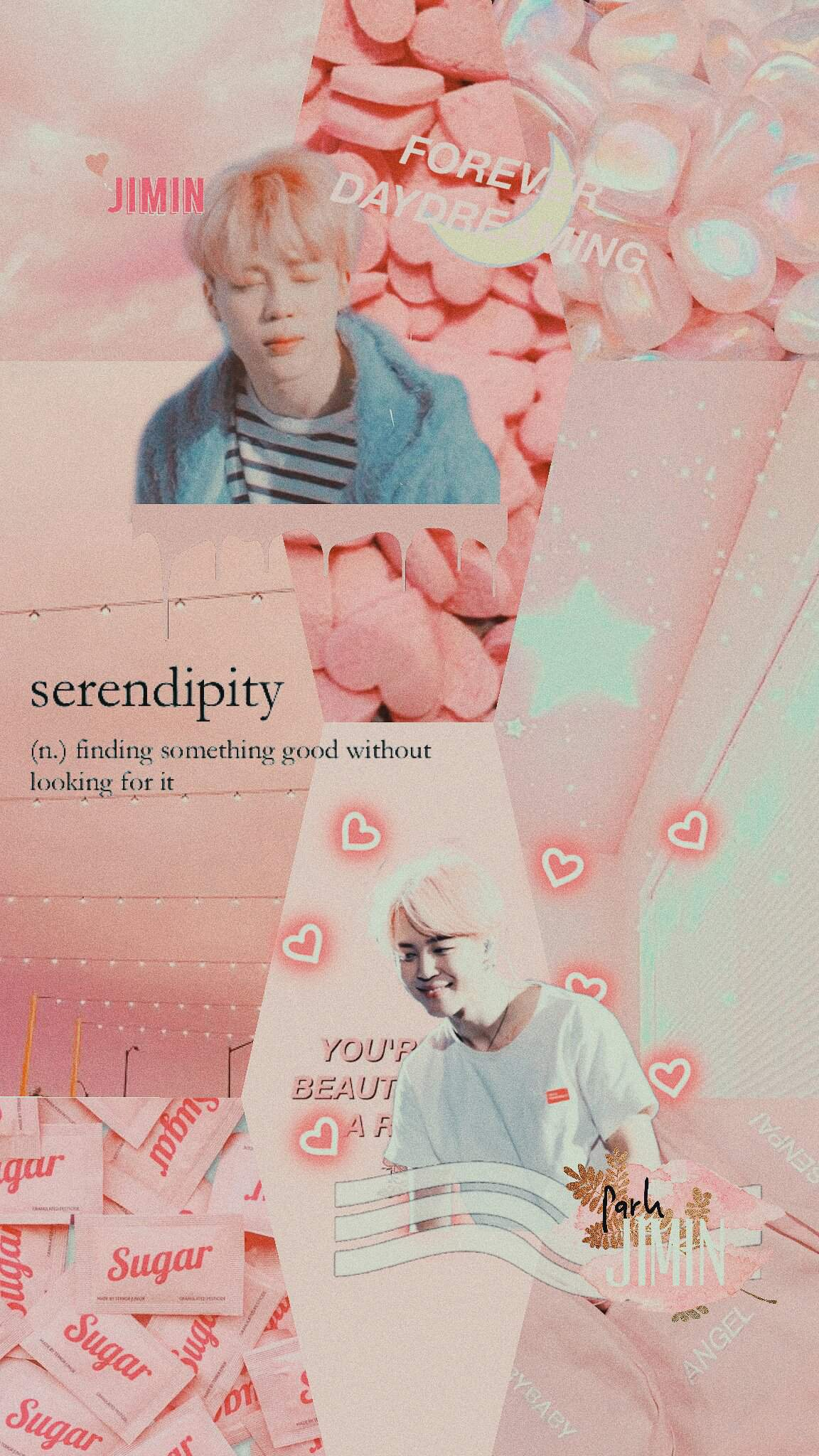 Aesthetic Jimin Collage Wallpaper Army S Amino
