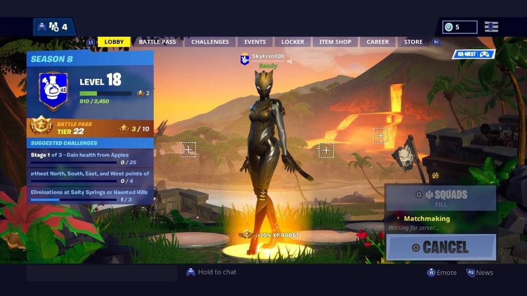 Fortnite Final Stage I Finally Unlocked The Final Stage Of Lynx All I Have To Do Now Is Get 25k For Zenith For The Last Stage Fortnite Battle Royale Armory Amino
