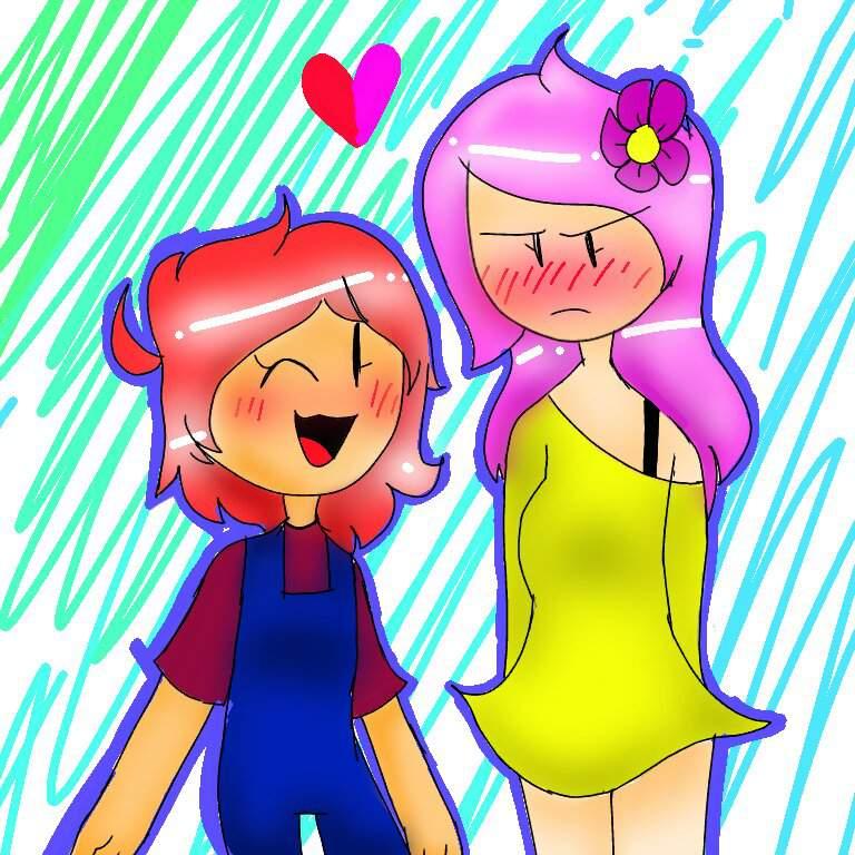 Ruby x flower human   BFB Amino! Amino