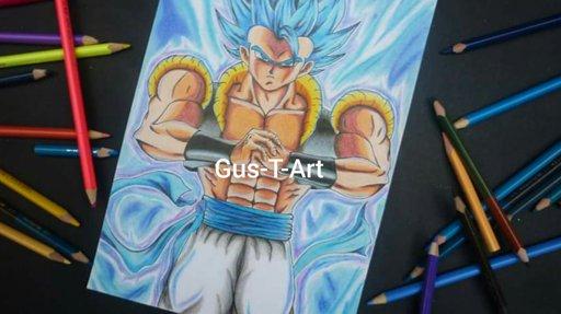 Drawing Gogeta Ssj Blue New Dragon Ball Super Broly Movie