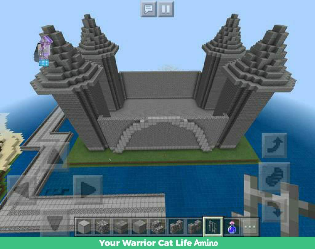 Minecraft Castle Roof Designs Minecraft Map