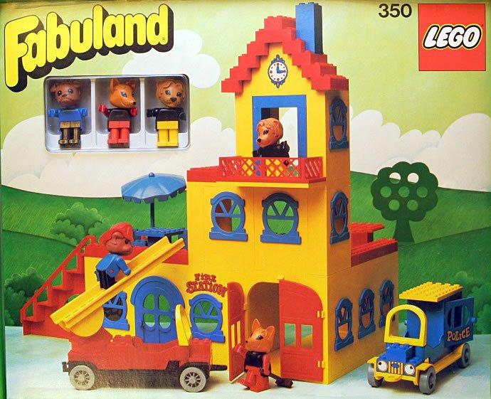 Lego Fabuland Figur Freddy