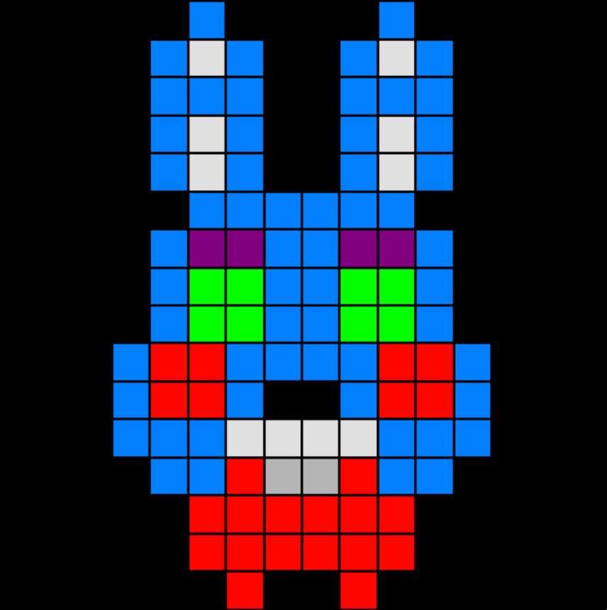 Pixel Art Toy Animatronics Five Nights At Freddy S Amino