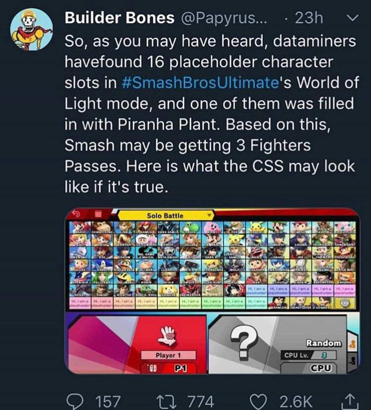 My thoughts on the datamined 16 slots | Smash Ultimate Amino