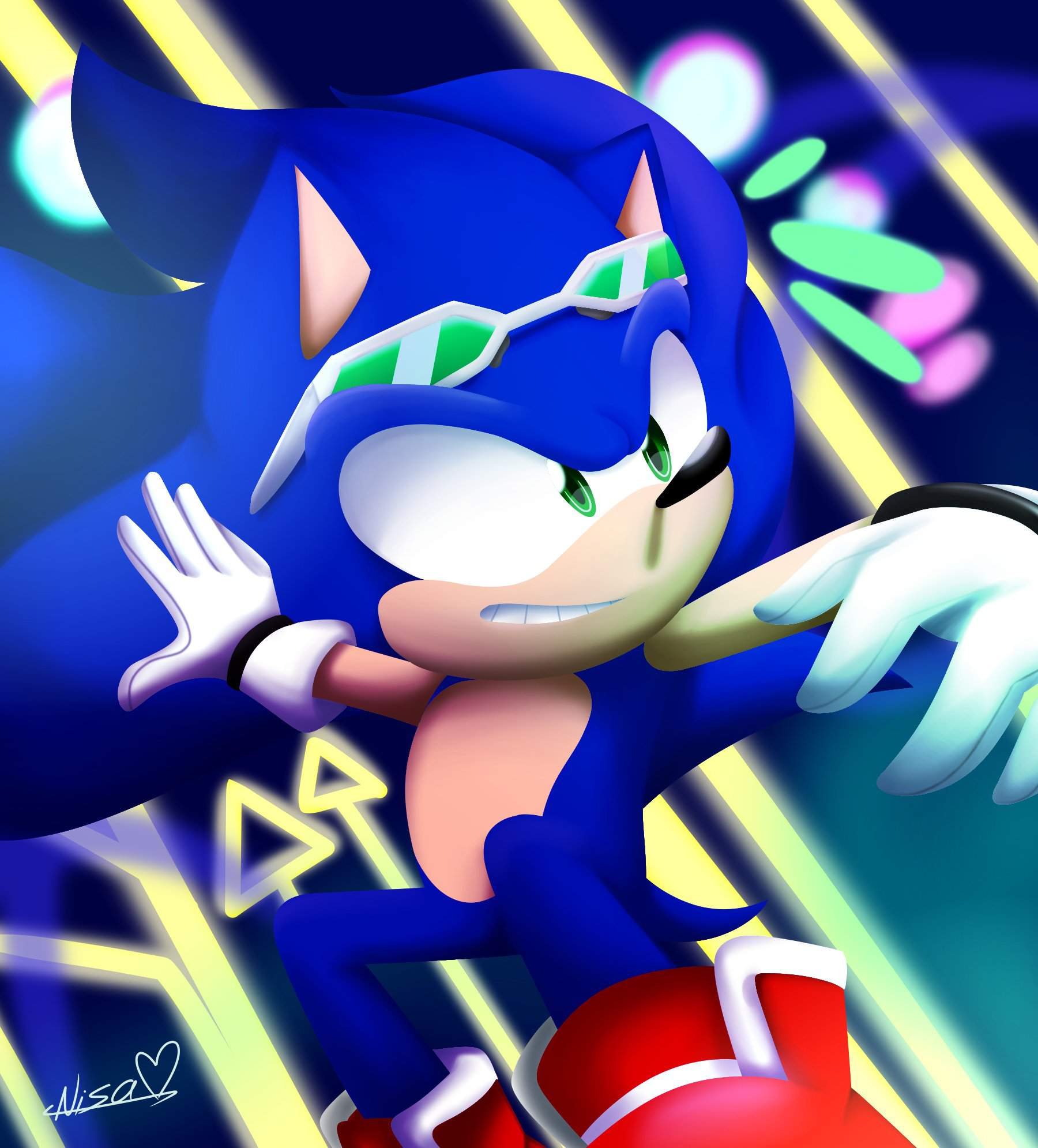 Sonic Riders 3D Paint Style | Sonic Universe Amino