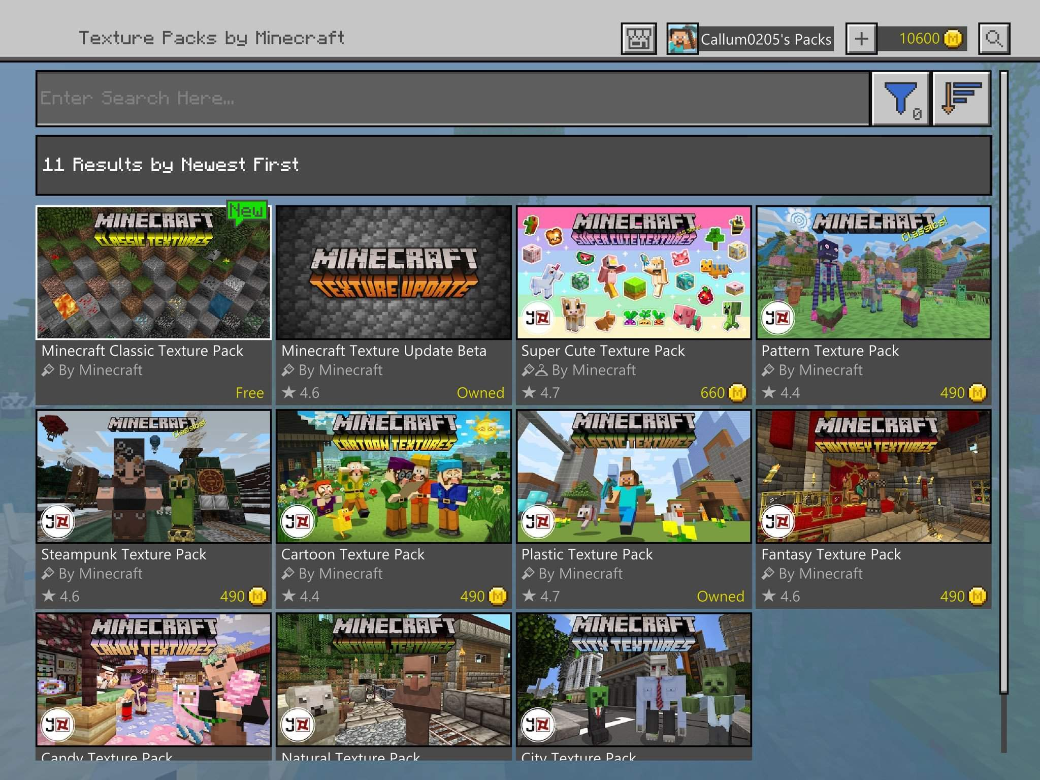 New OG Texture Pack Available For MCPE & New Version of