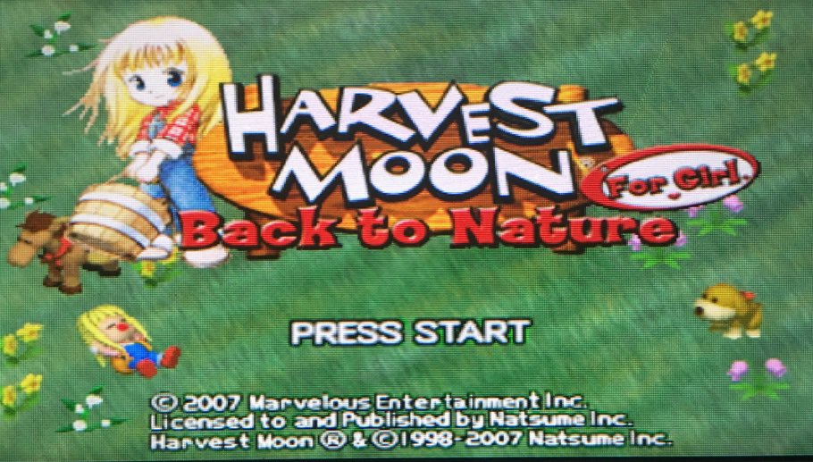 Back To Nature For Girl | Harvest Moon/Story Of Seasons Amino
