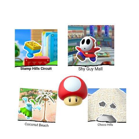 Mk9 Nitro Tracks Mario Kart Amino