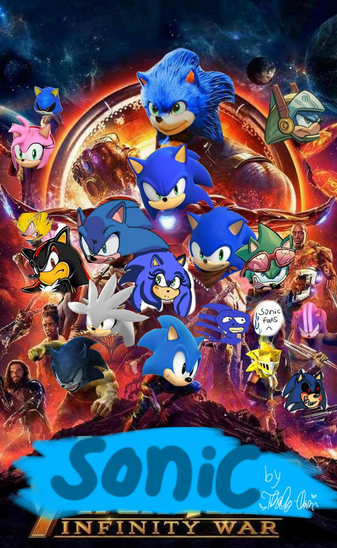 Sonic Infinity War Comic For Real This Time Sonic The Hedgehog Amino