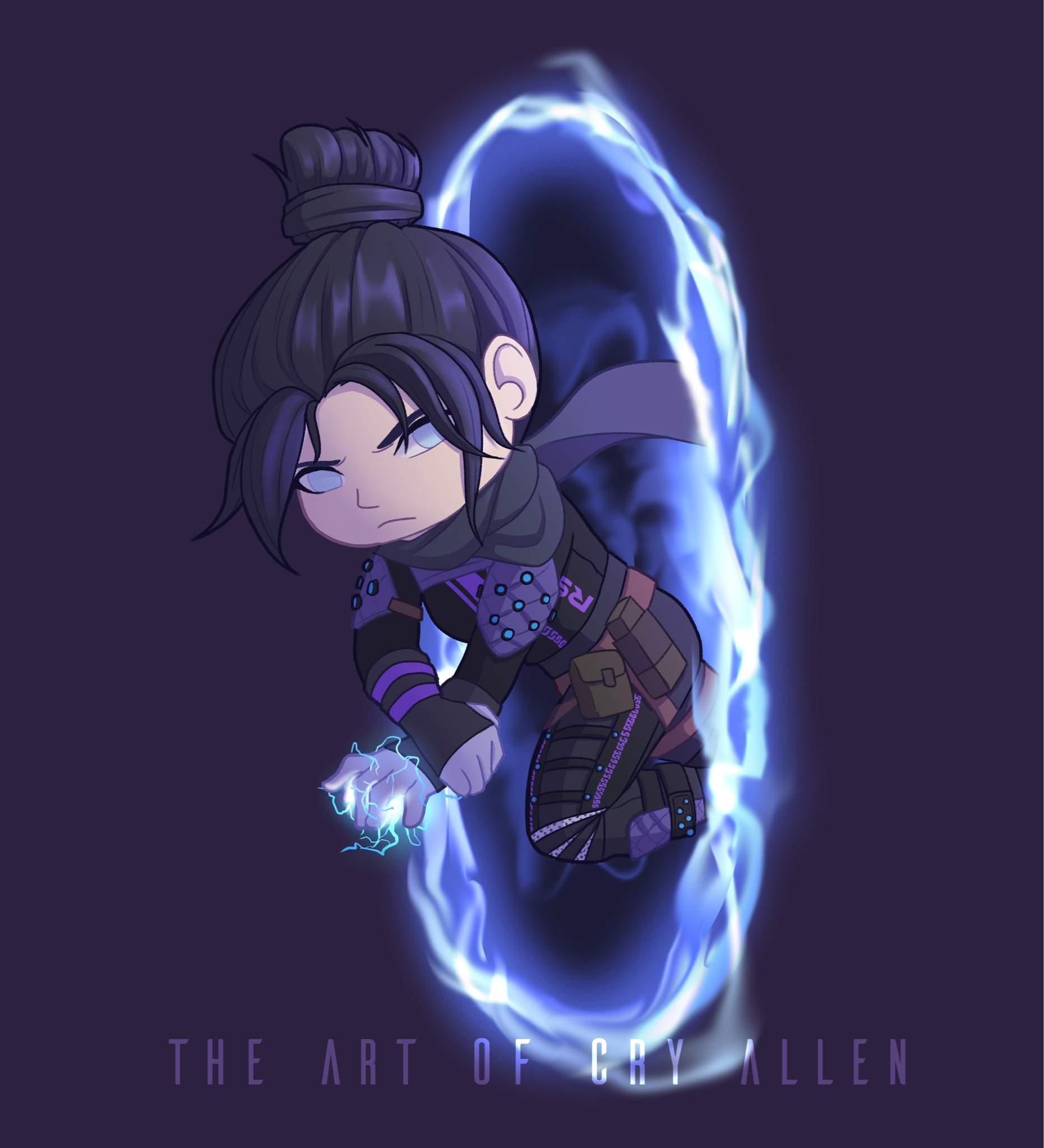 Wraith Chibi Apex Legends Armory Amino Amino
