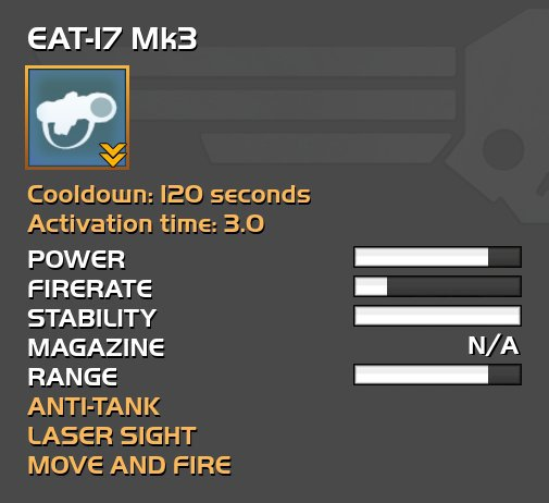 EAT-17 Expendable Launcher | Wiki | Universal Warfare Amino
