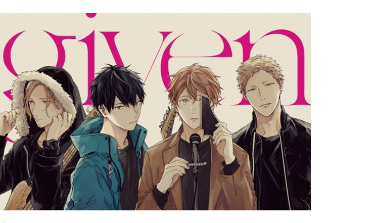 Given Manga Rec Anime Amino