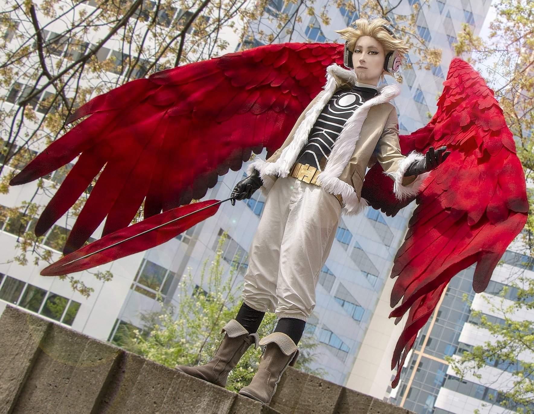 Winged Hero Hawks | Cosplay Amino