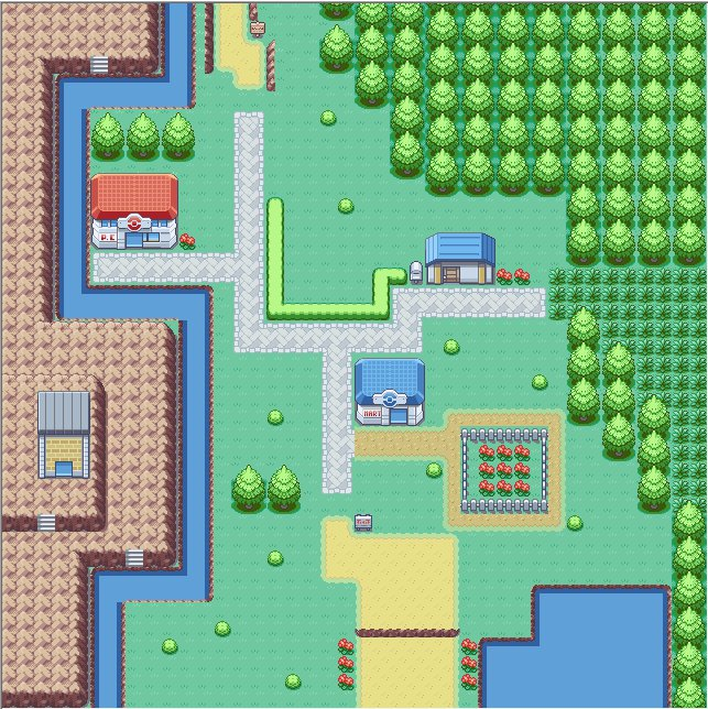 Oak Town - Pokemon FireRed Map | Pokémon Amino Map For Fire Red on sapphire map, sinnoh map, blue safari zone map, fire zone map, game of thrones dragonstone map, auburn university map,