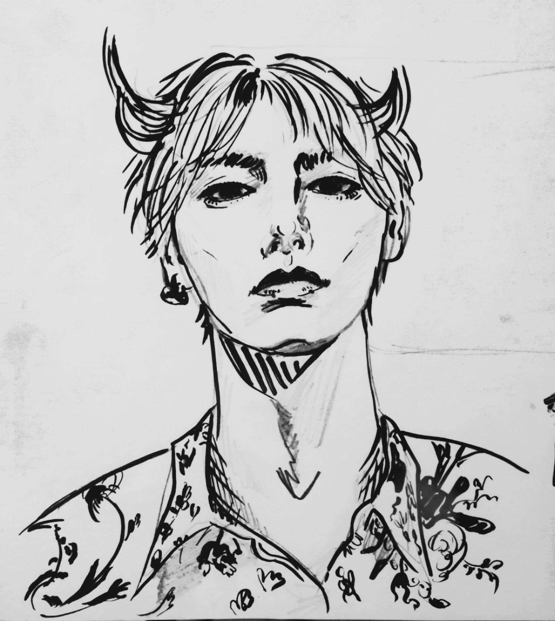 Bts Sketches Fanart Taehyung Yoongi Jin Jimin Army S Amino