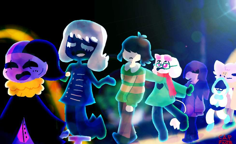 adventure with deltarune characters     i guess   Deltarune  Amino