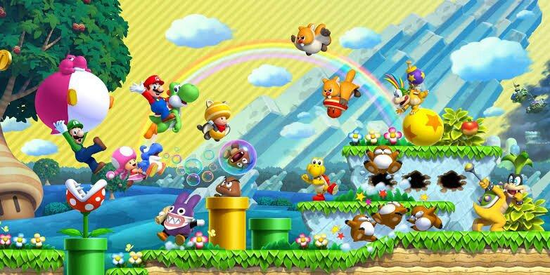 Super Mario U Star Coins New Super Mario Bros Wii Walkthrough