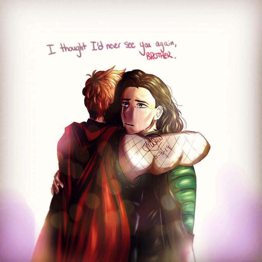 Thor and Loki   Marvel Amino