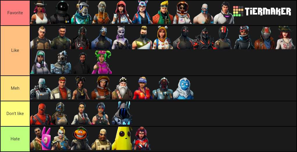 Ranking All Battle Pass Skins Fortnite Battle Royale Armory Amino The battle pass has its roots in the progression system established in season 1. amino apps