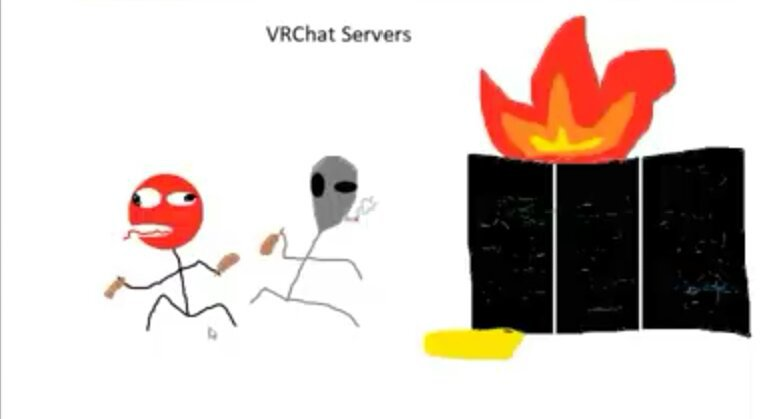 Vr chats severs are having problems?!?! | VR_Chat Amino