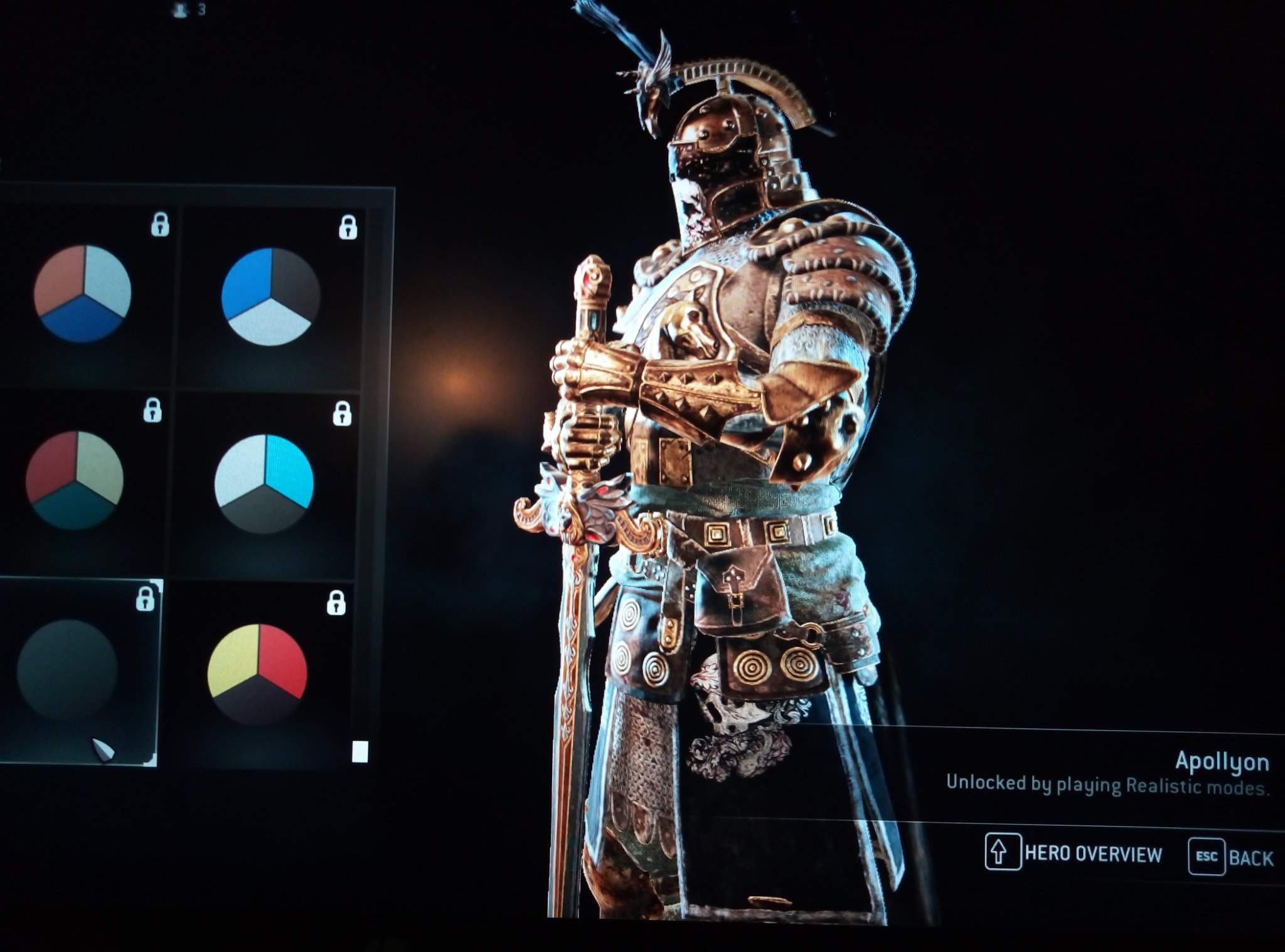 Anyone Else Notice The New Color Apollyon For Honor Amino