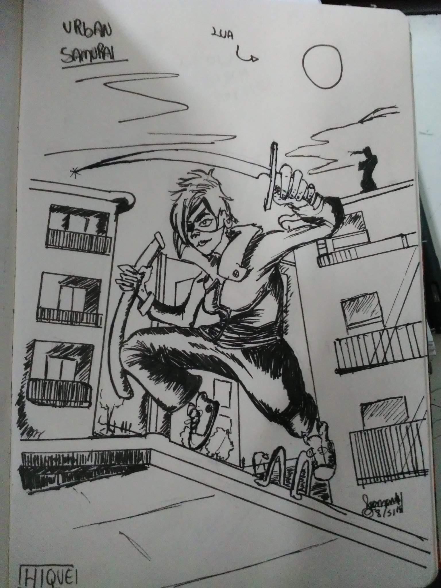 Desafiodiario Urban Samurai Desenhos Amino