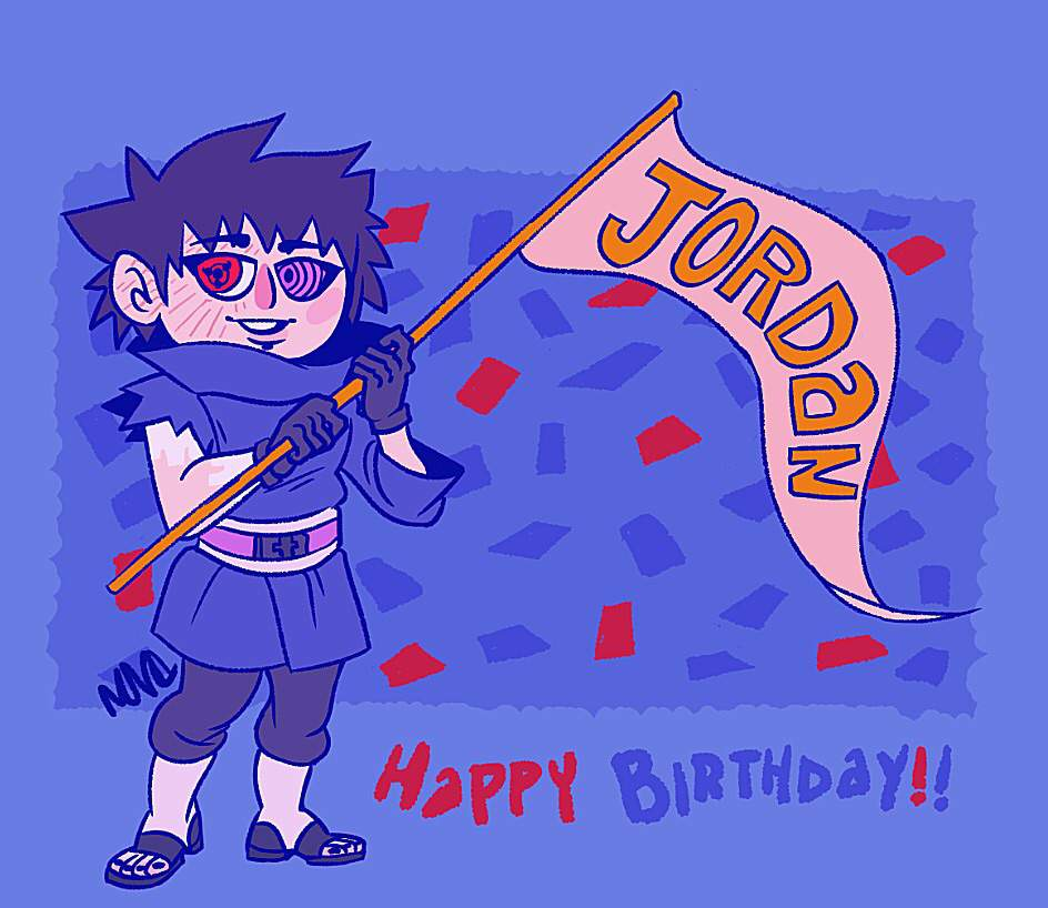 Happy Birthday Jordan Naruto Amino
