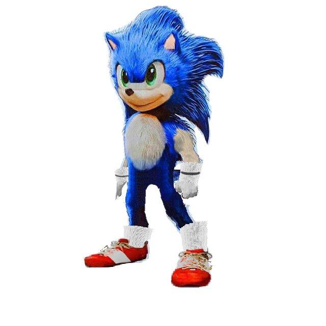 Sonic Movie Redone In Photoshop Sonic The Hedgehog Amino