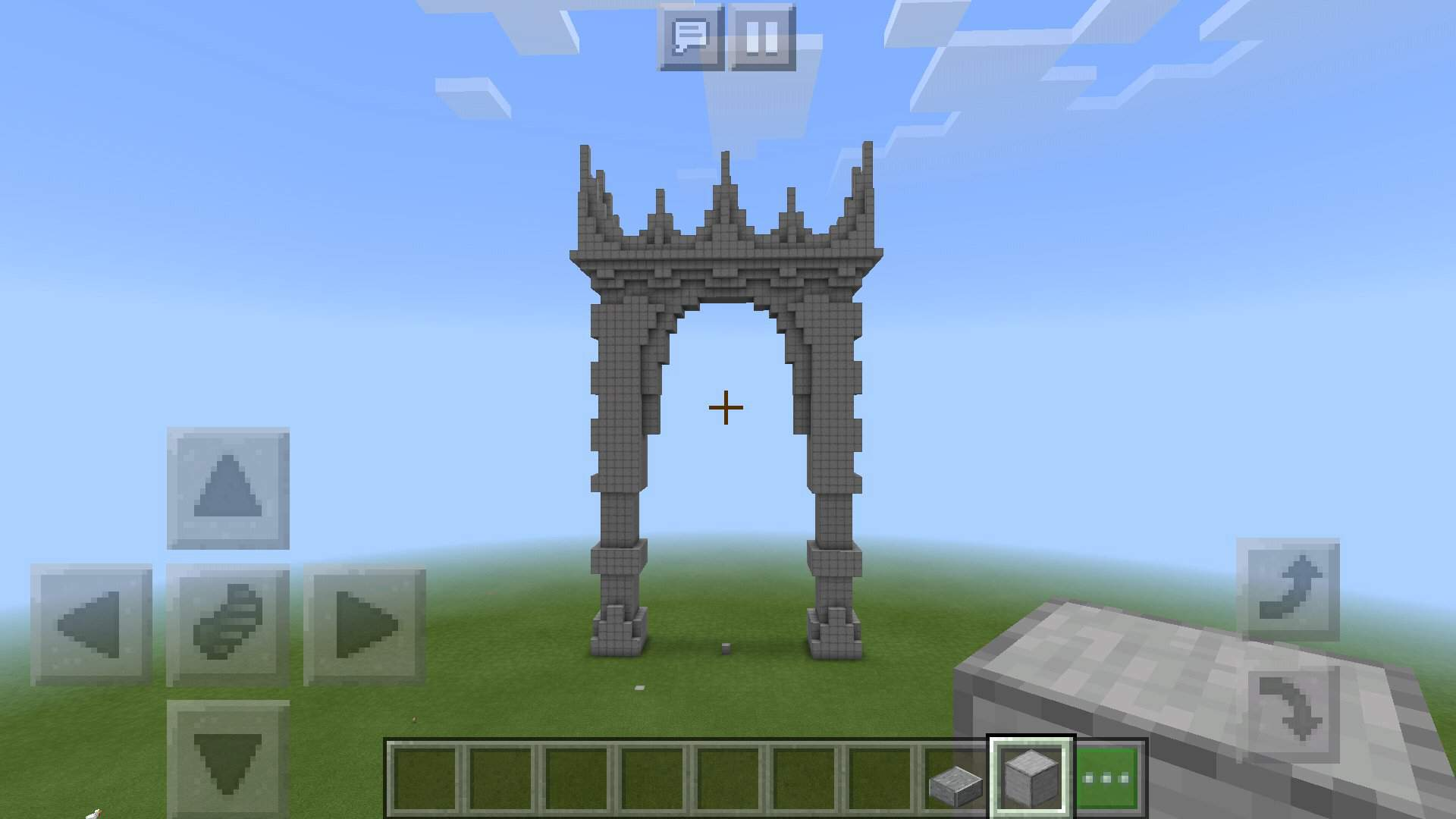 Giant Portal Gate Minecraft Amino